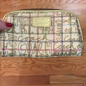 Coach makeup bag/pouch